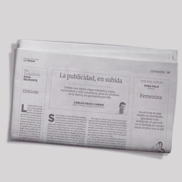 La publicidad… ¿en subida?