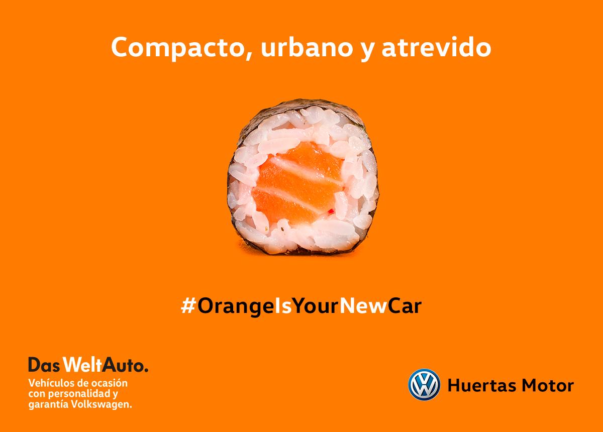 Volkswagen Huertas Motor, orange is the new car