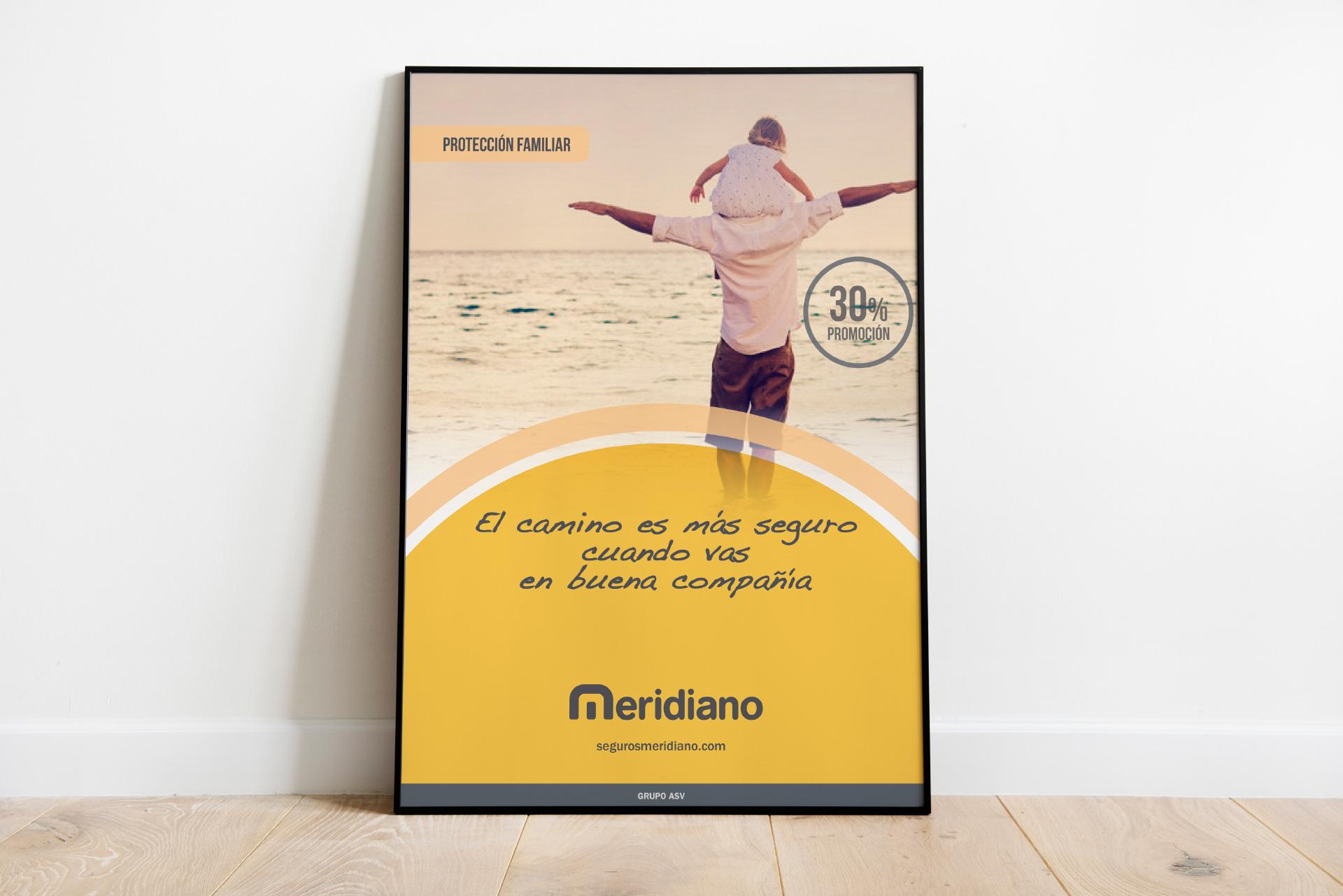 Meridiano Seguros, un diseño muy seguro