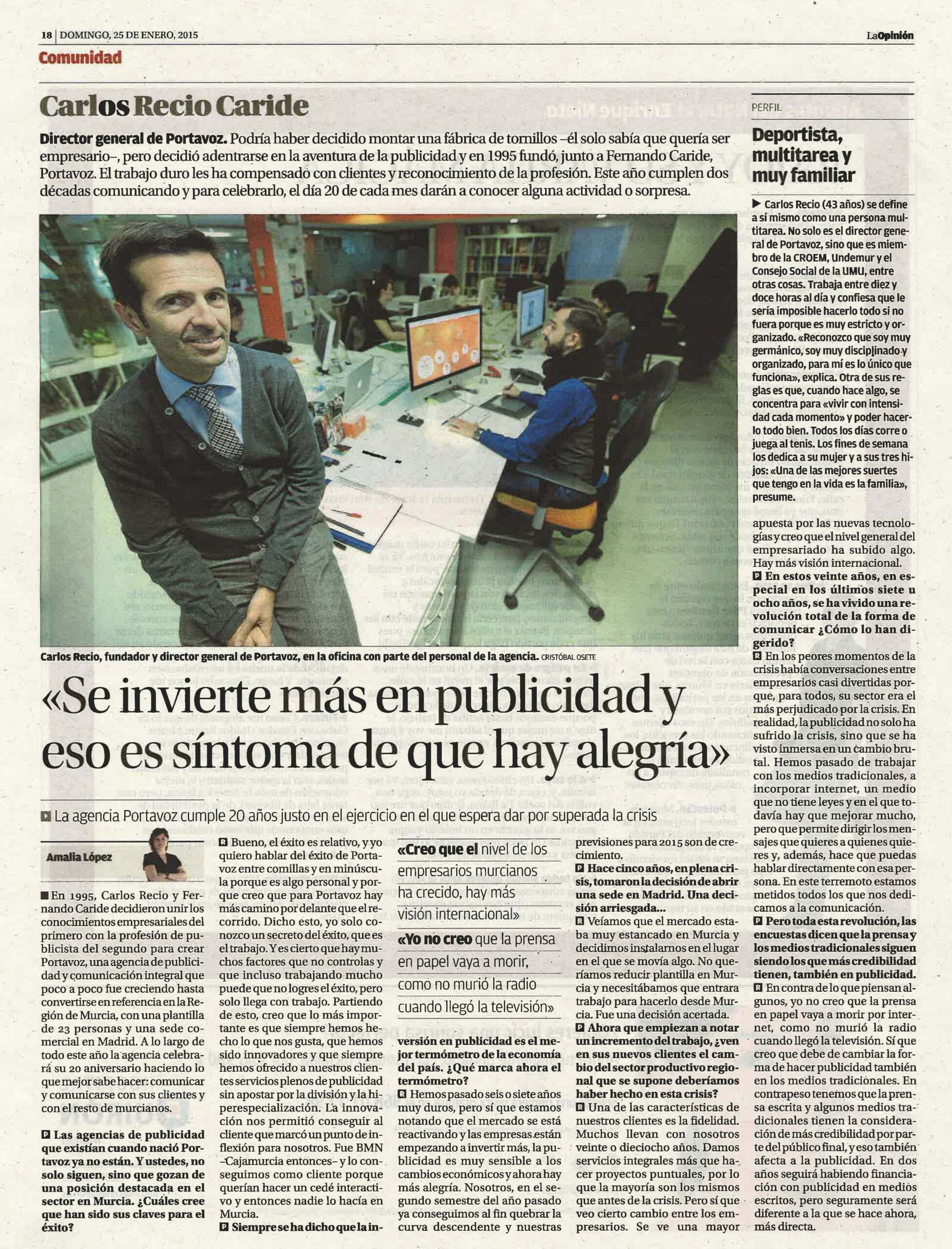 LO 25-1-15 Carlos Recio