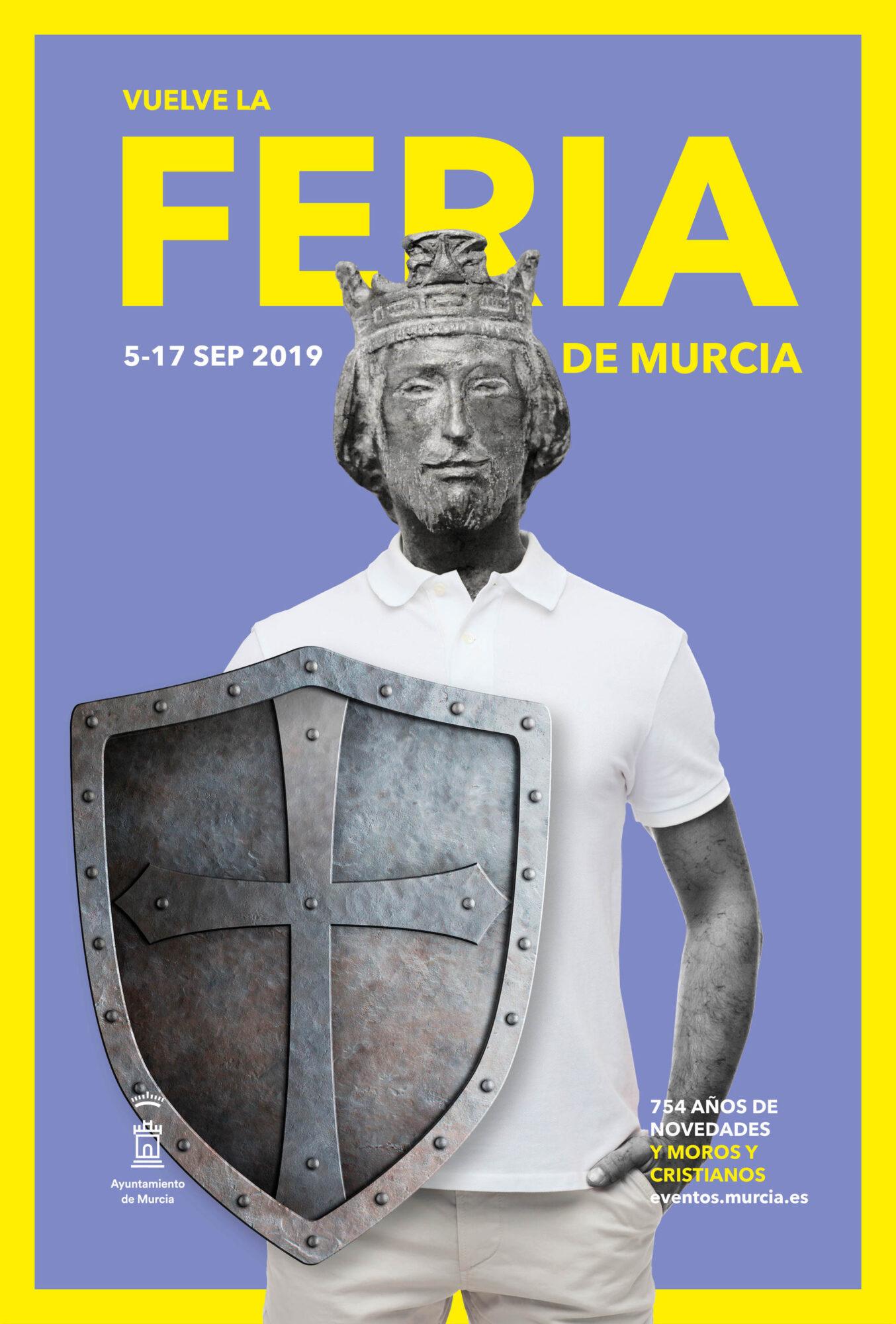 Ayuntamiento de Murcia, Alfonso se va de feria