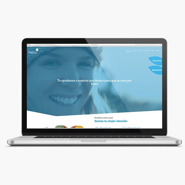 Trabajos - Una web nutritiva