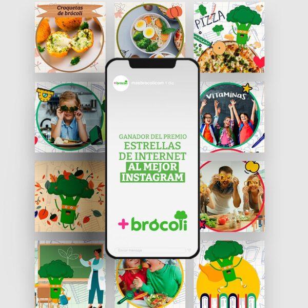 Trabajos - +Brócoli y +Premios