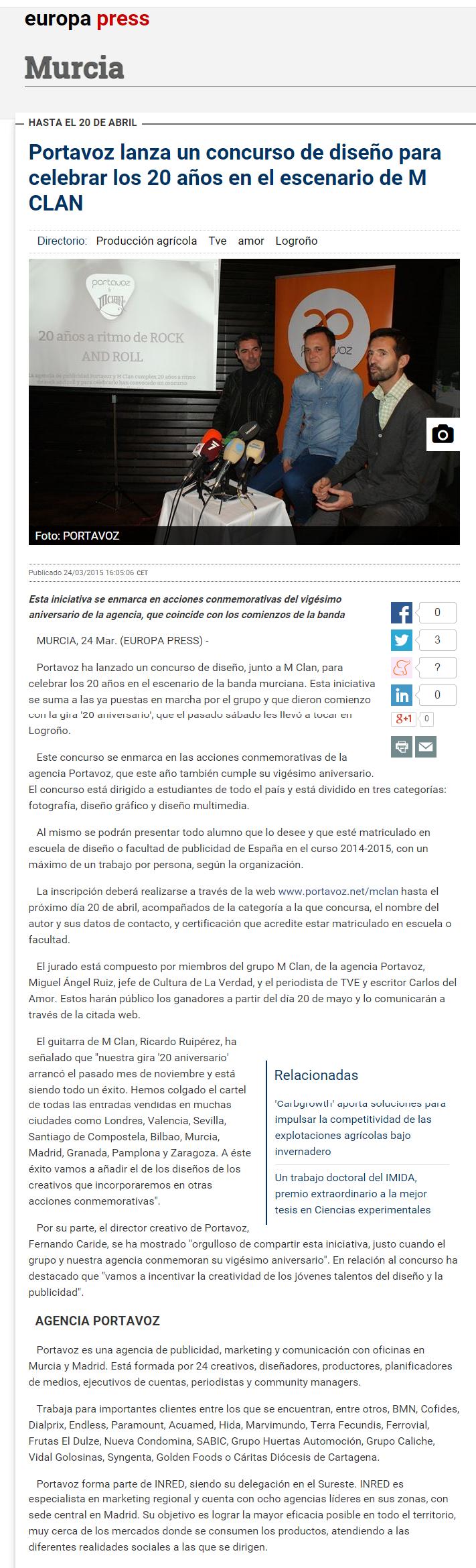 Europa Press 24-3-15 Portavoz 2