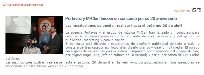 El Publicista 25-3-15 Portavoz